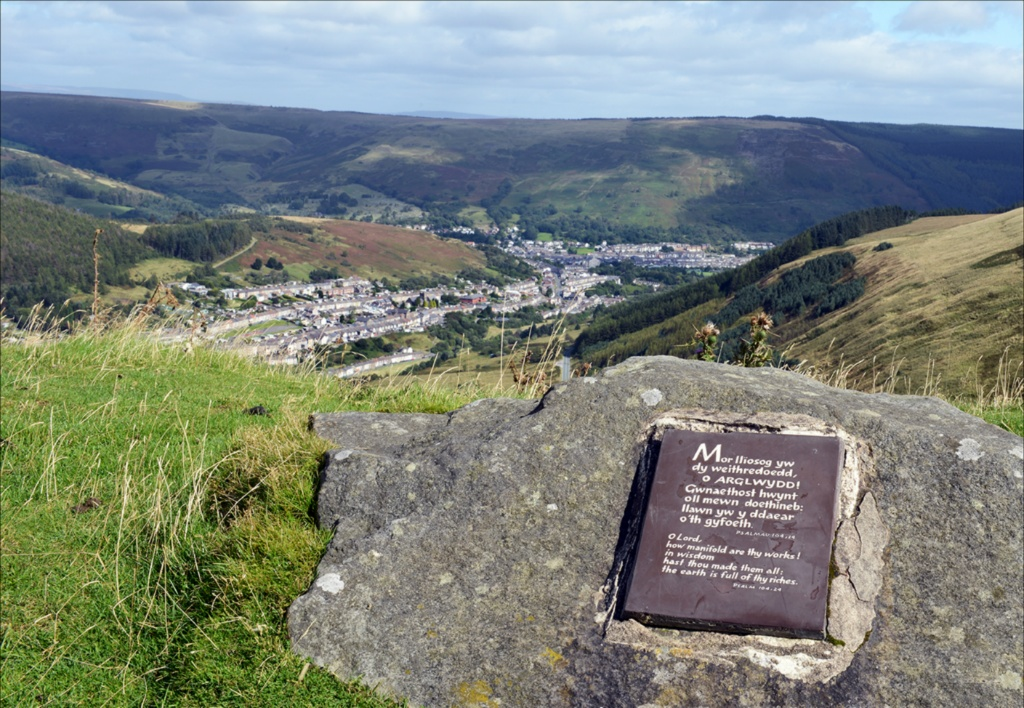 View from Bwlch Mountain LR