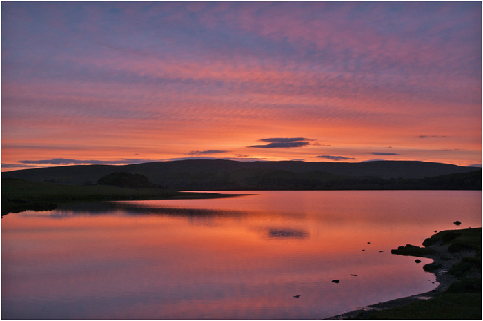 Malham Tarn Sunset web