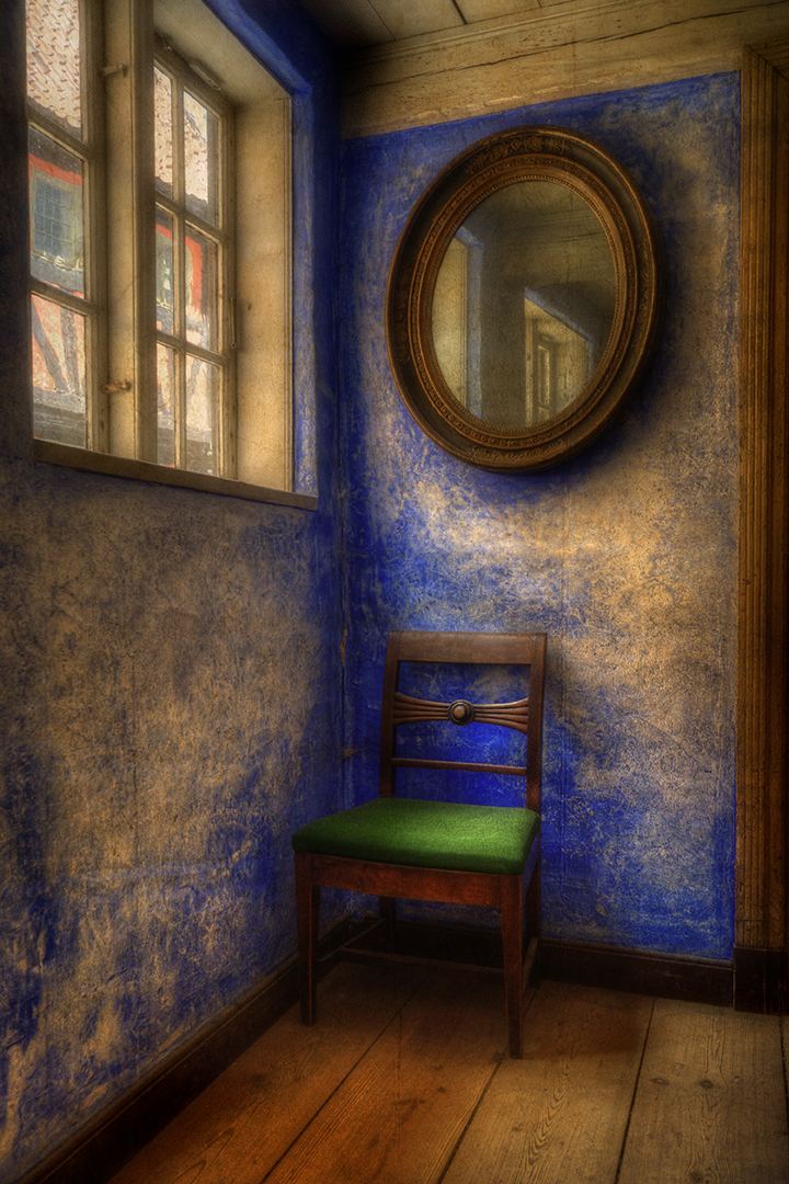 Waiting for post impressionism by Gwynfryn Jones